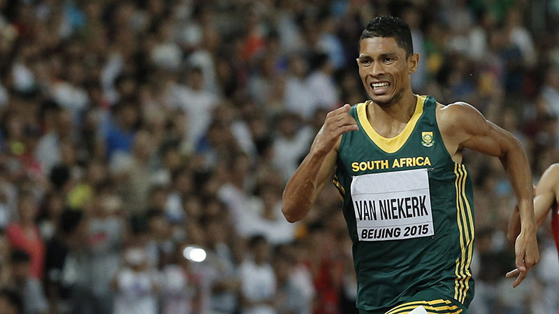 team visa south african sprinter