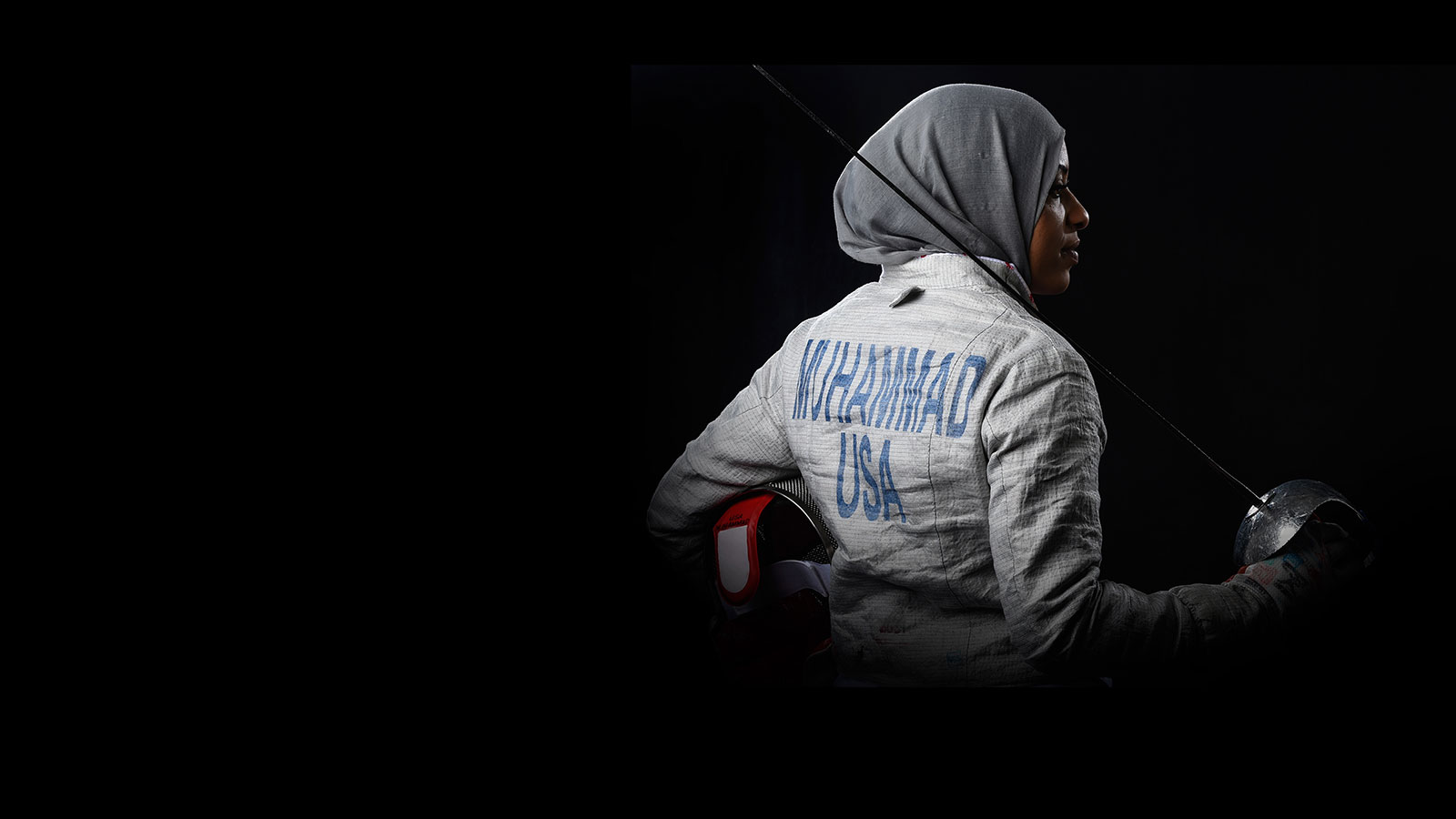 Champion fencer Ibtihaj Muhammad